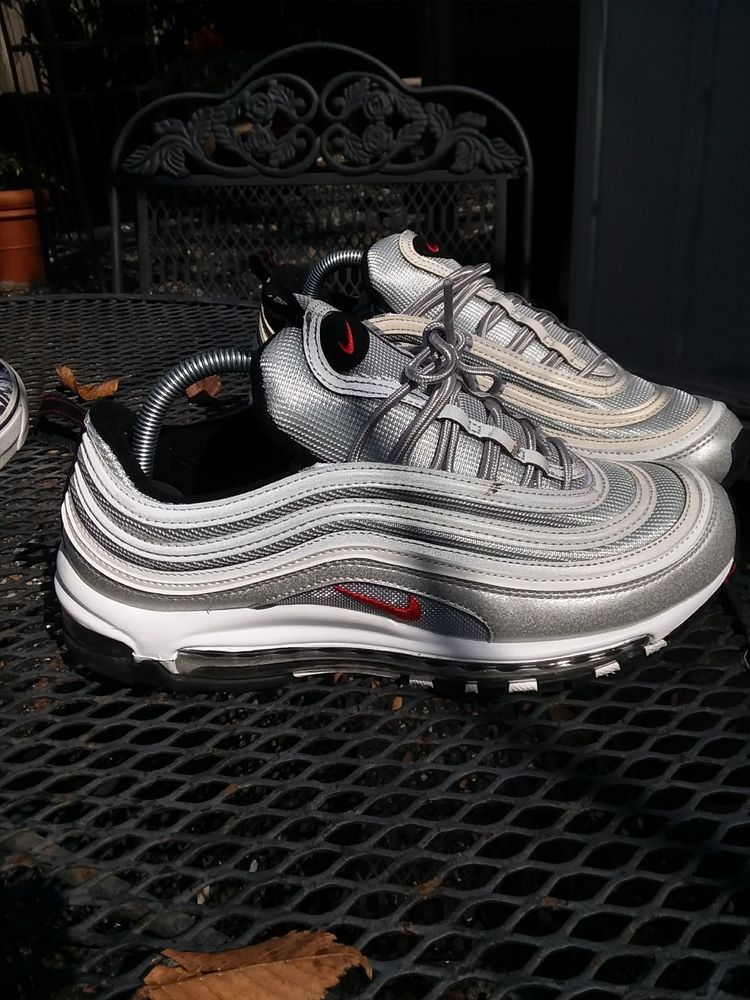 87d020fc8b Nike Air Max 97 OG QS Silver Bullet Size 9 (Worn Two Times) Size 9 Mens. # fashion #clothing #shoes #accessories #mensshoes #athleticshoes (ebay link)