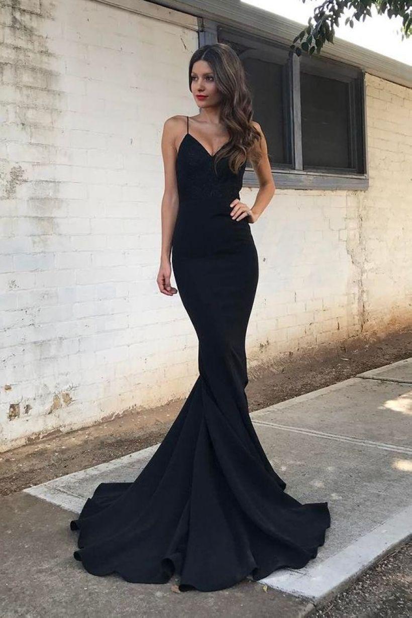 simple black prom dress you must try black prom dresses black