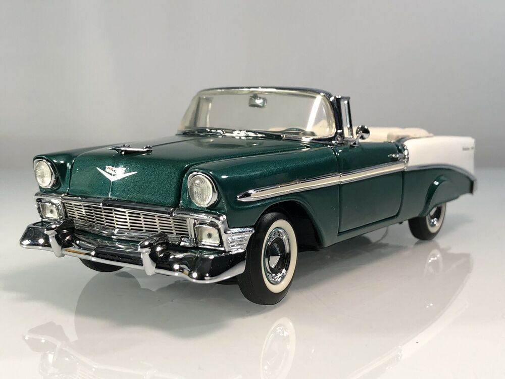 Franklin Mint 56 Chevrolet Bel Air Convertible Sherwood Green 1 24 Diecast Car Franklinmint Chevrolet In 2021 Chevrolet Bel Air 1956 Chevy Bel Air Chevy Bel Air