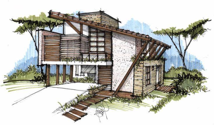 Resultado de imagem para croqui arquitetura zeichnen pinterest architektur zeichnungen - Architektur zeichnen ...