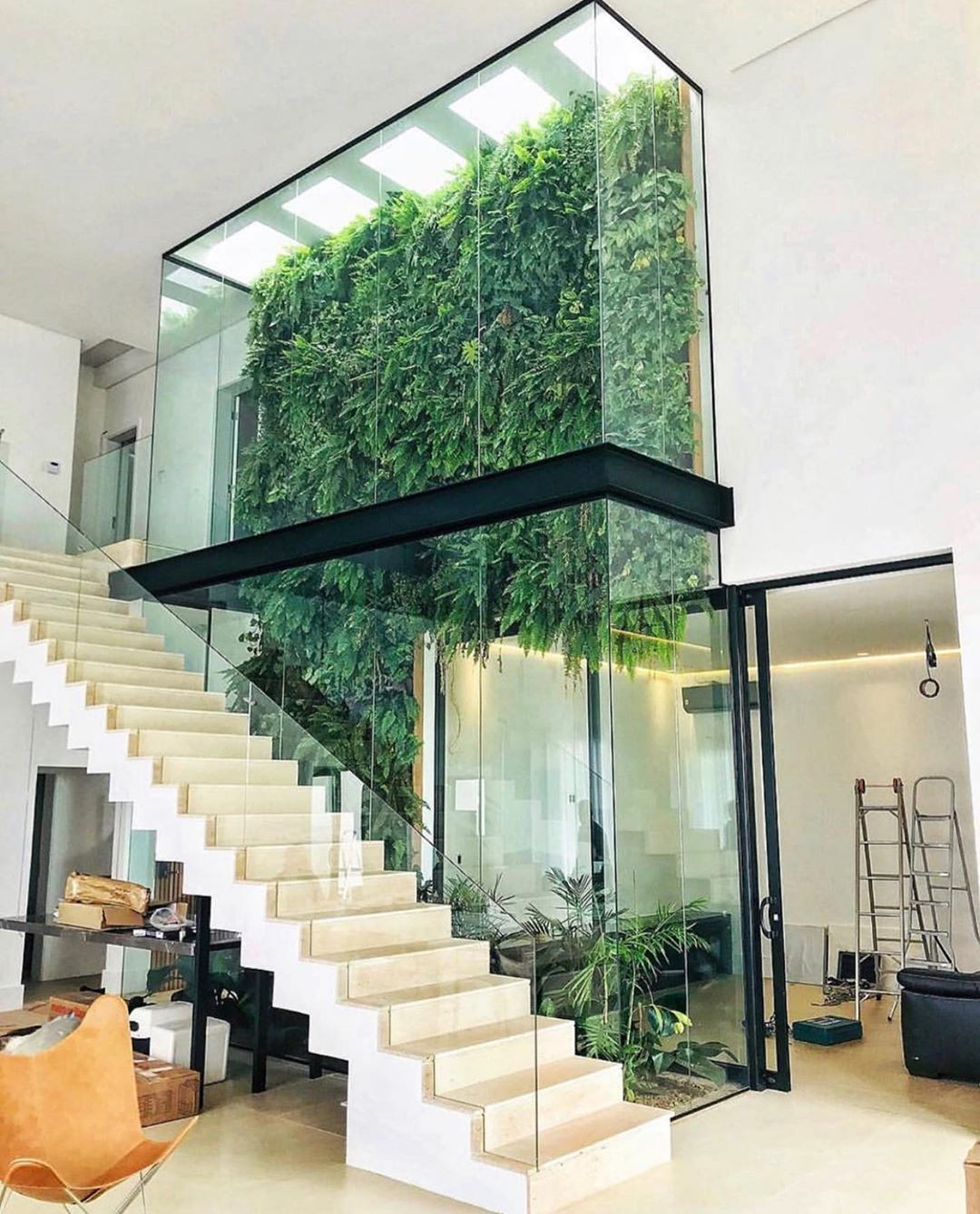 Interior Design On Instagram Green Atrium Designed By