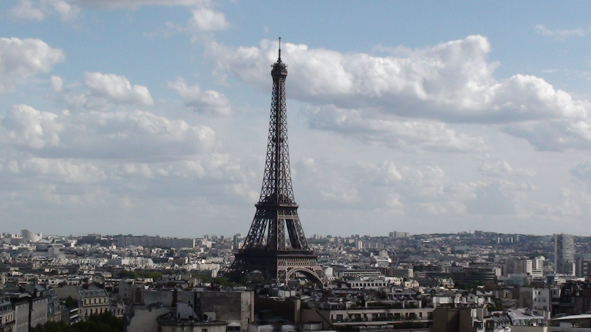 View of Paris from Arc deTriomphe
