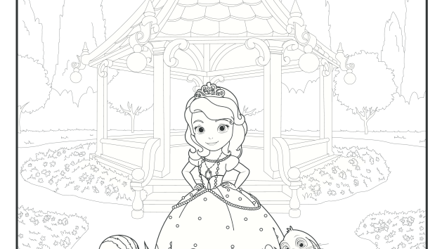 Sofia And Her Woodland Friends Coloring Pages Disney Junior Disney Coloring Pages Coloring Pages Disney Junior