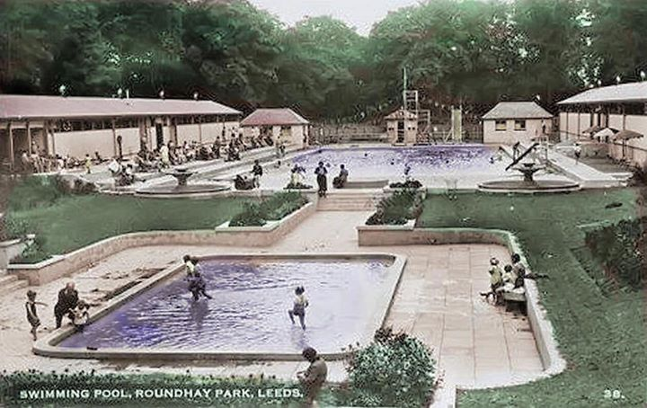 Swimming Pool Roundhay Park Much Loved Part Of Leeds But Not There Now Leeds City Leeds Yorkshire England