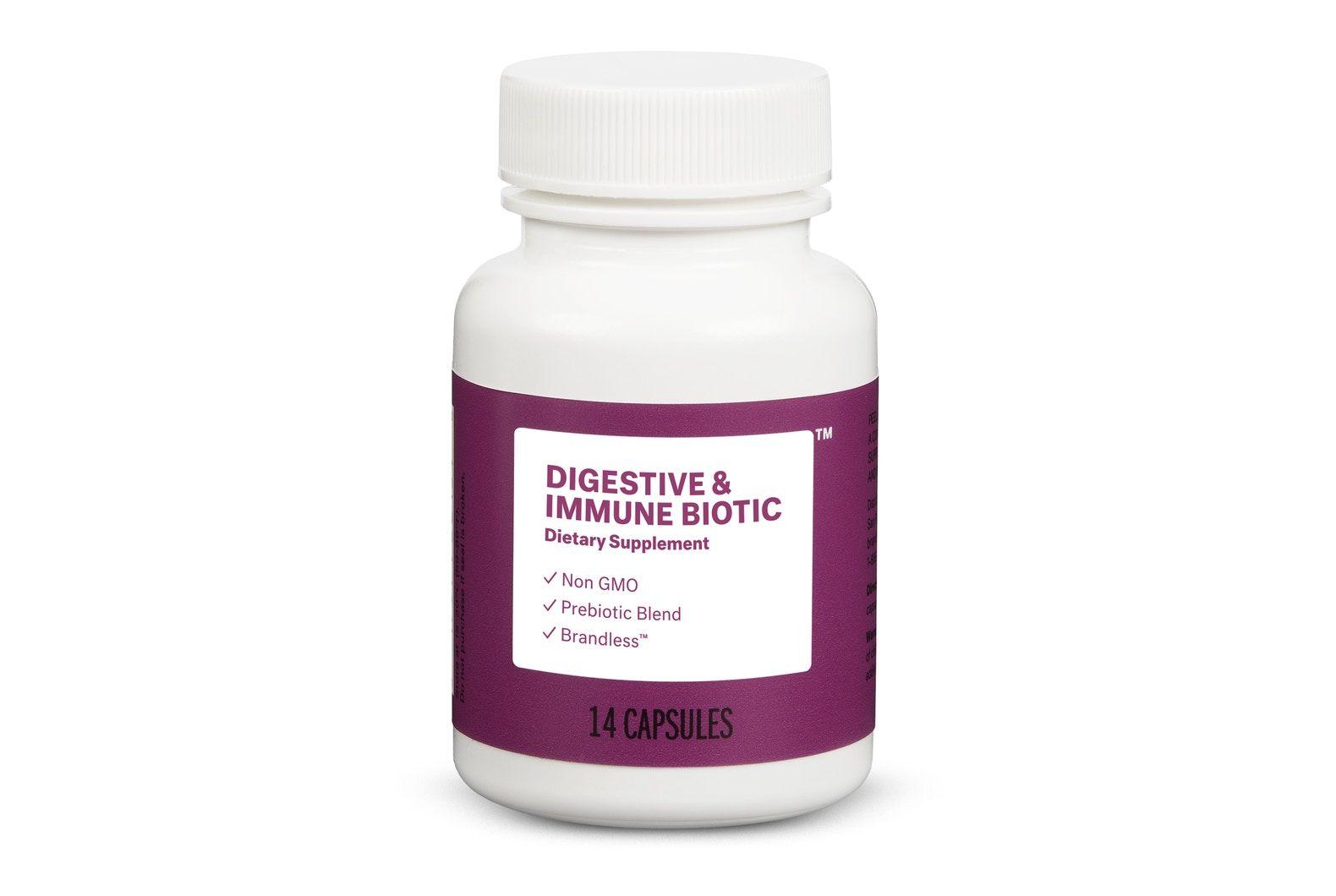 Digestive health immunity supplements brandless