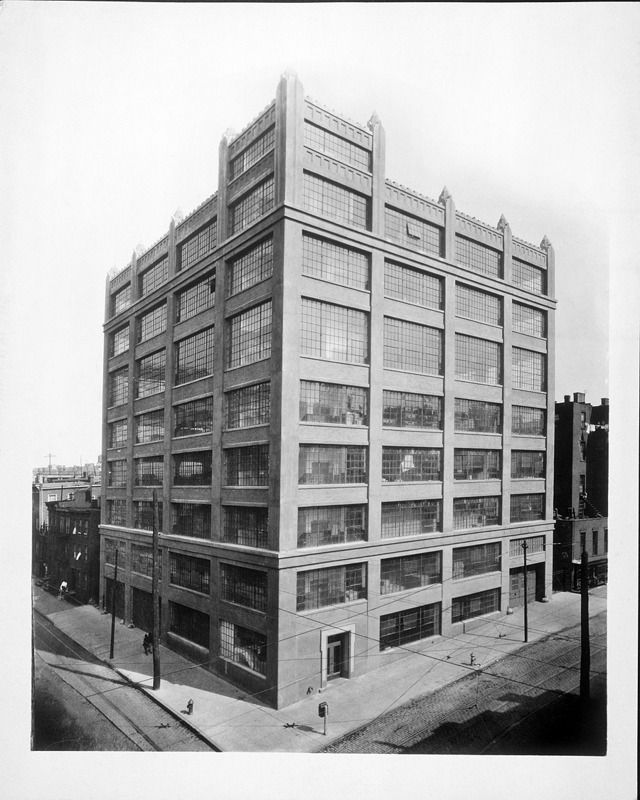 The first Watchtower factory building - 117 Adams St