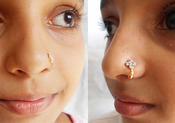 Fake Indian Nose Ring
