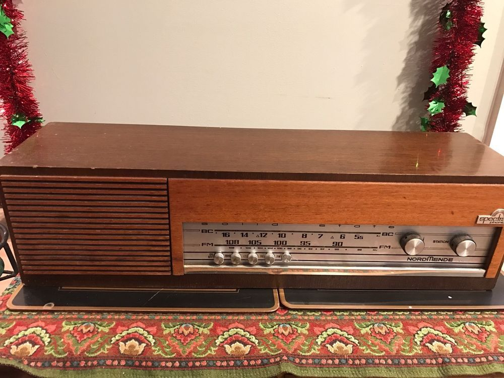 Vintage NordMende Spectra Phonic Radio..1960's...German