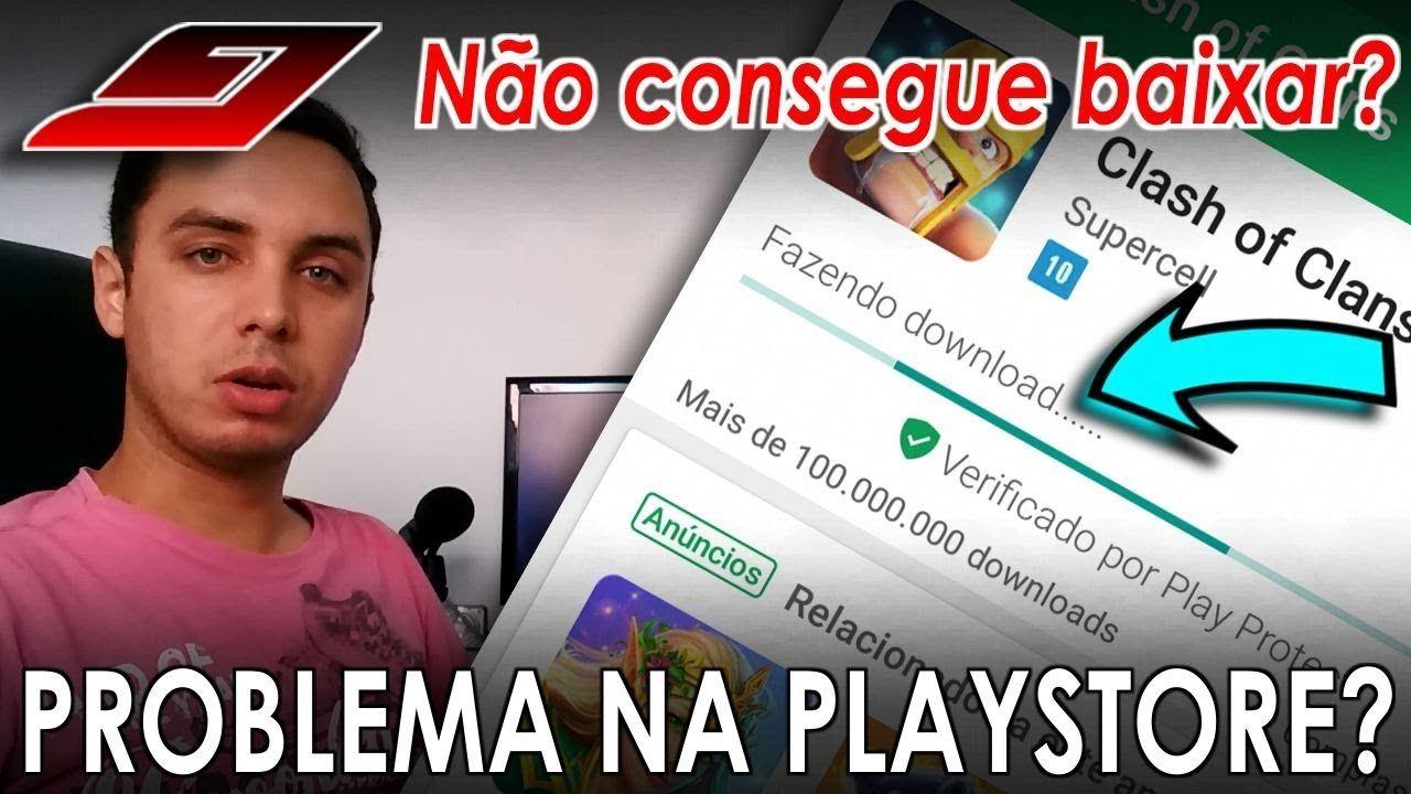 Google Play Store não abre ou não baixa (Download pendente