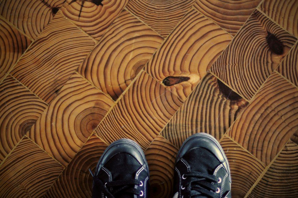 End Cut Wood Grain Flooring Inspiration Pinterest