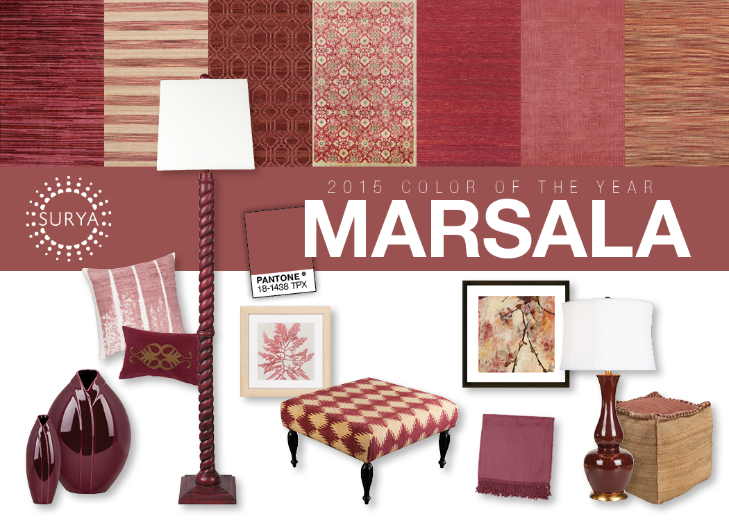 Pantone announced that Marsala is the 2015 Color of the Year. On ...