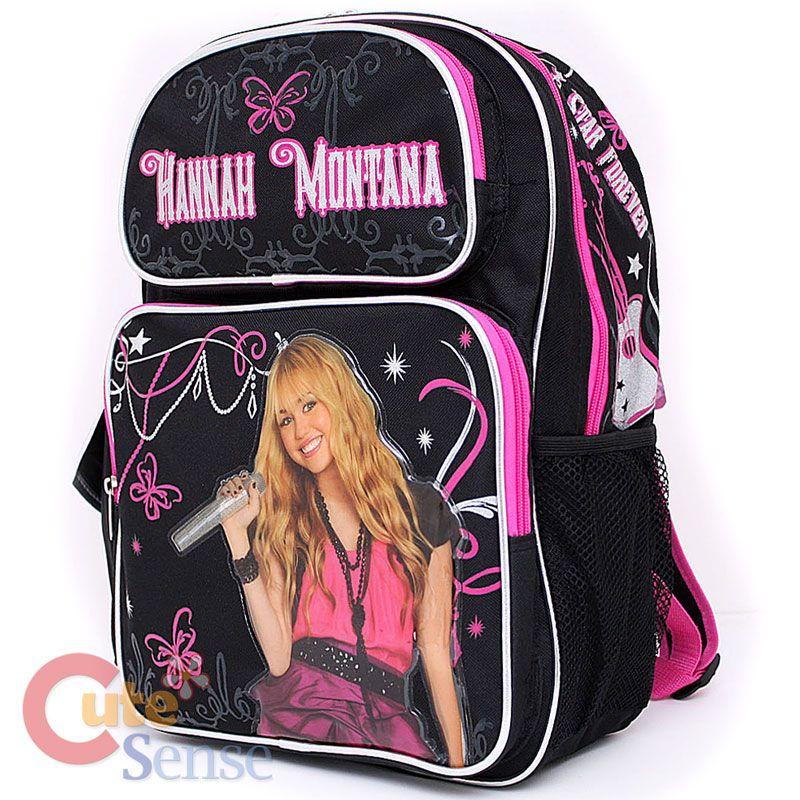204f1f45e2 Disney Hannah Montana School Backpack 16 Large Book Bag
