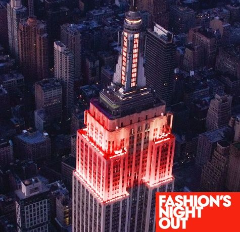 FNO Highlight of the Day: The Empire State Building Lights Up for Fashion's Night Out - Vogue Daily - Vogue
