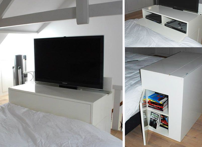 Tv Kast Met Lift Aan Bed Google Zoeken Woon Bed Flat