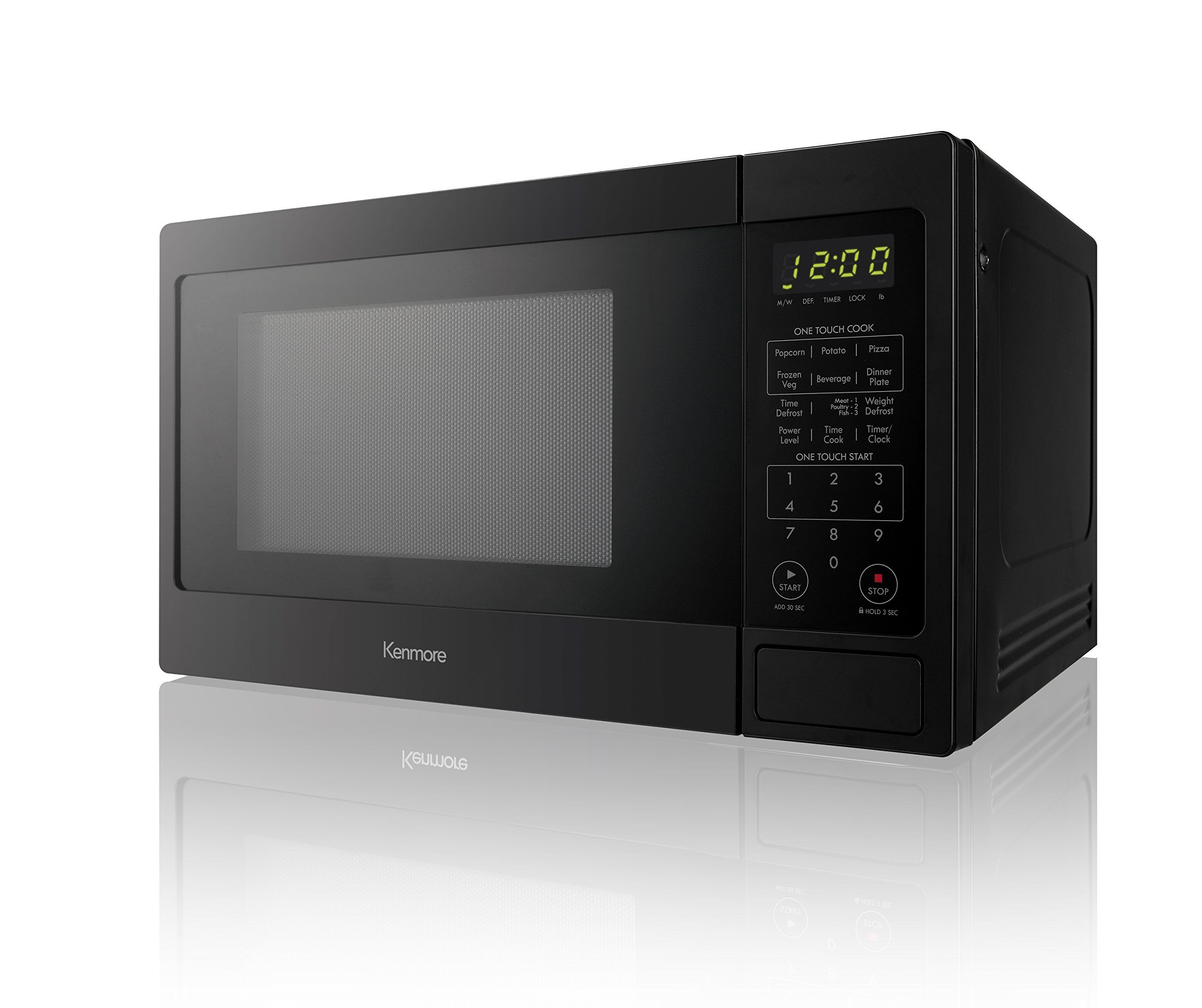 Kenmore 70919 Countertop Microwave 0 9 Cu Ft Black Continue