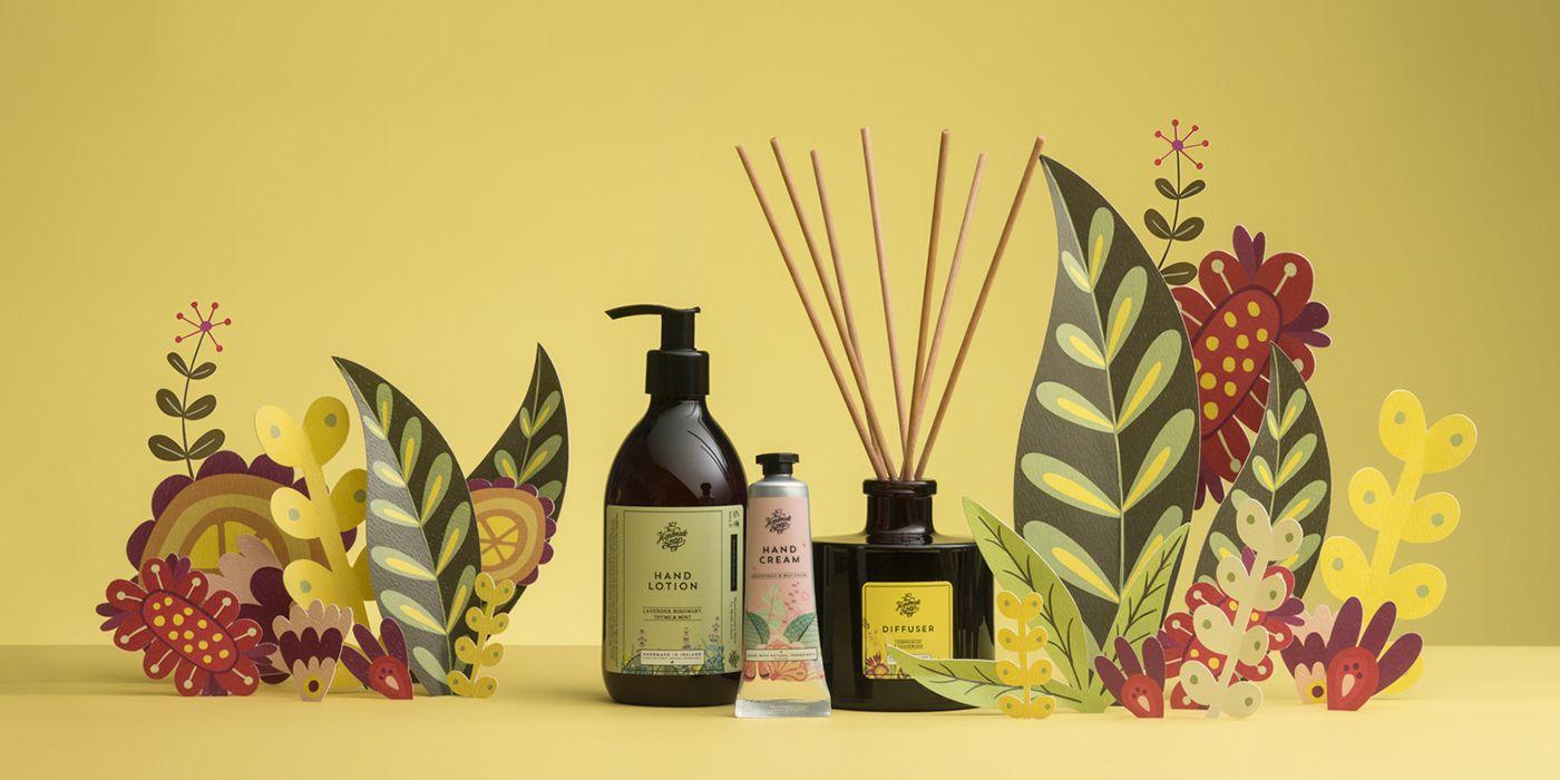 The Handmade Soap Company on Behance