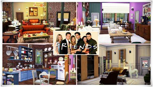 The Sims 4 Blogger Sssvitlans Ts4 Friends Apartments