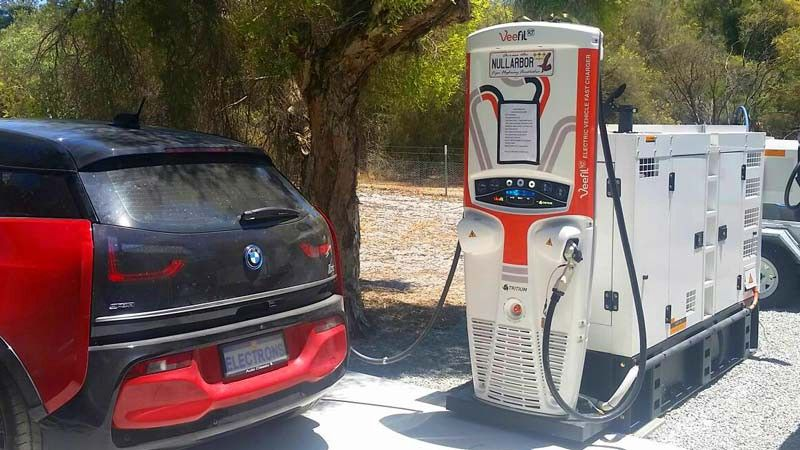 ProofofStake is less wasteful Electric car charging