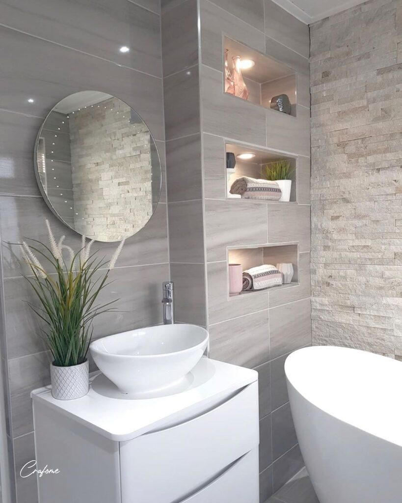 Ways to Make Your Bathroom Look More Luxury - Crafome