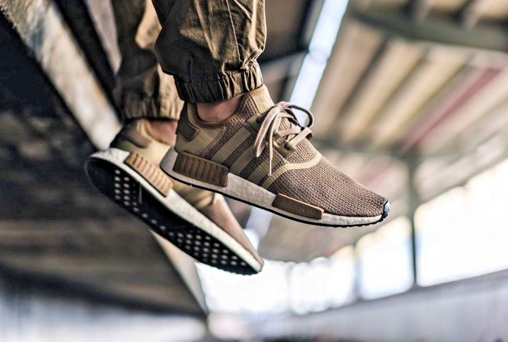 new product 3dcab 92914 adidas NMD_R1 | 'Raw Gold' Cardboard/Future White | Mens ...