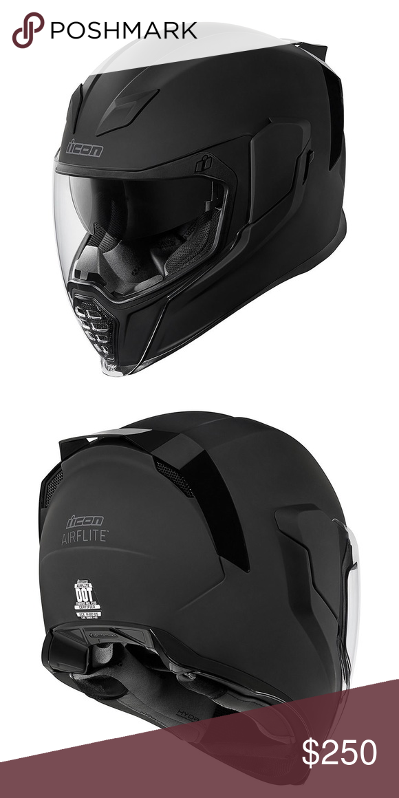 Icon Airflite Battlescar helmet Helmet, Indian scout
