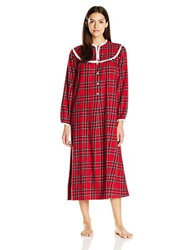 8a4c4d43d3 Lanz Women s Cotton Flannel Nightgown