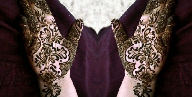 Mehndi Makeup Step By Step : Simple mehndi designs for hands step by