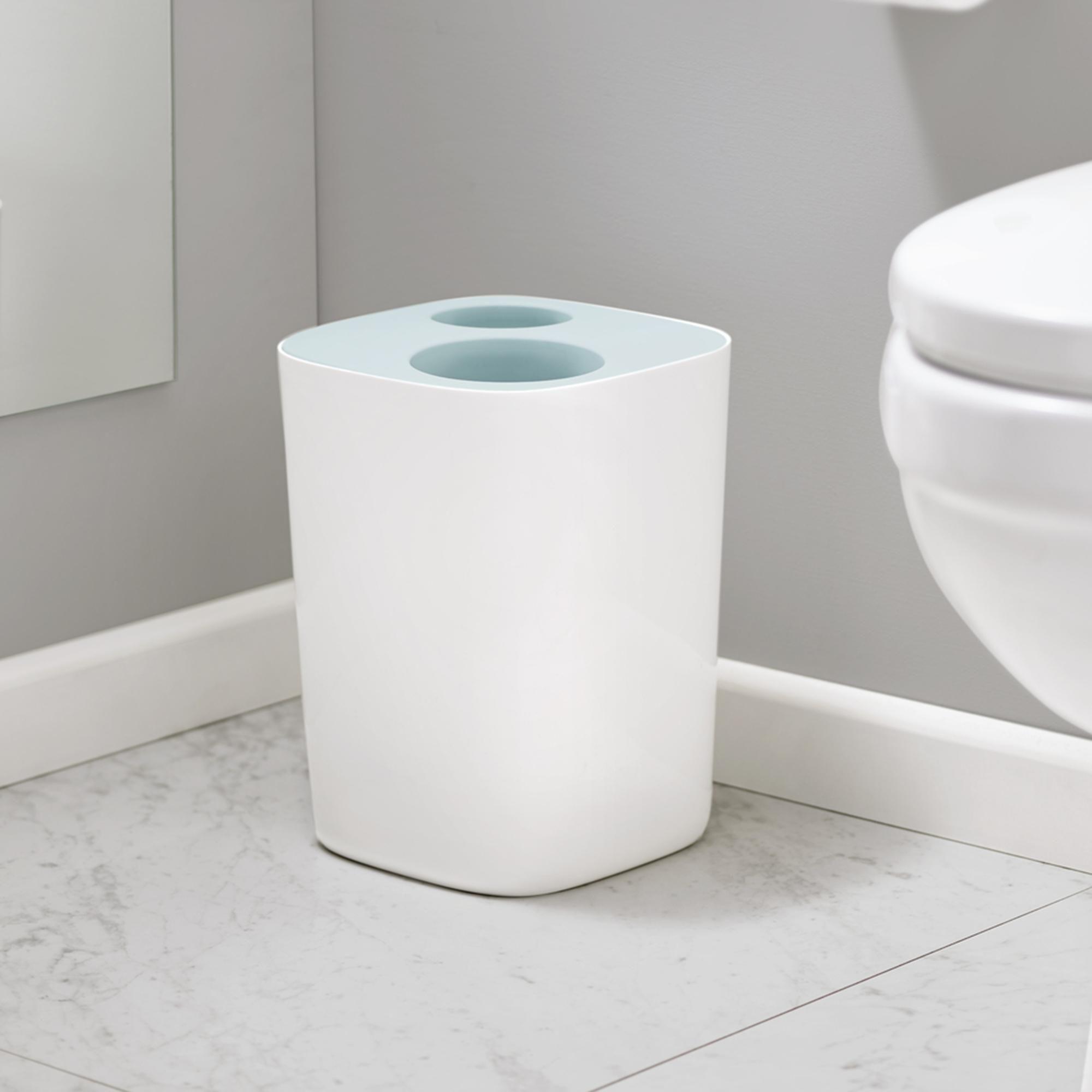 Joseph Joseph Split Bathroom Waste Separation Bin In 2020 Bathroom Bin Joseph Joseph Joseph Joseph Bin