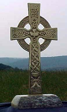 Celtic Alter Cross For Our Outdoor Wedding