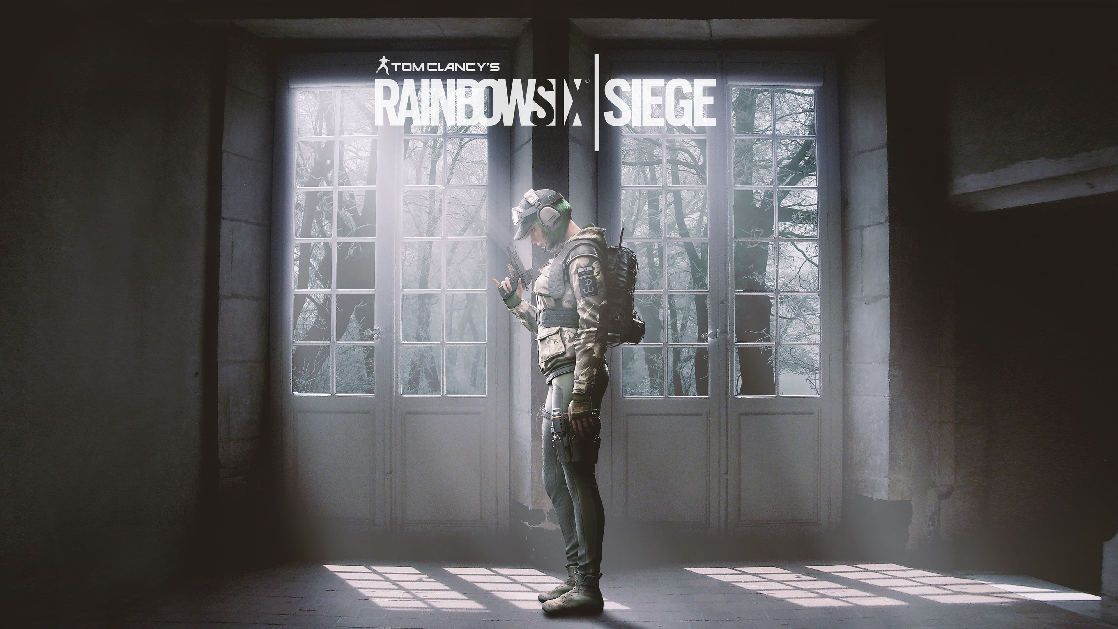 Tom Clancy S Operator Ela Rainbow Six Siege 4k 4k Wallpaper