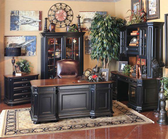 Riverside Home Office Executive Desk 44732: Hemispheres: A World Of Fine Furniture