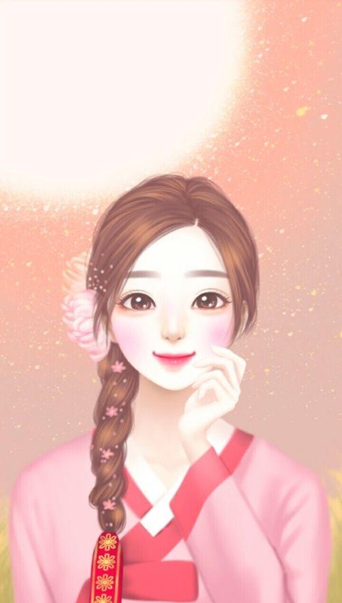 Art Art Girl Background Beautiful Beautiful Girl Beauty Cartoon Colorful Design Drawing Enakei Fashion Menggambar Rambut Seni Digital Gambar Anime