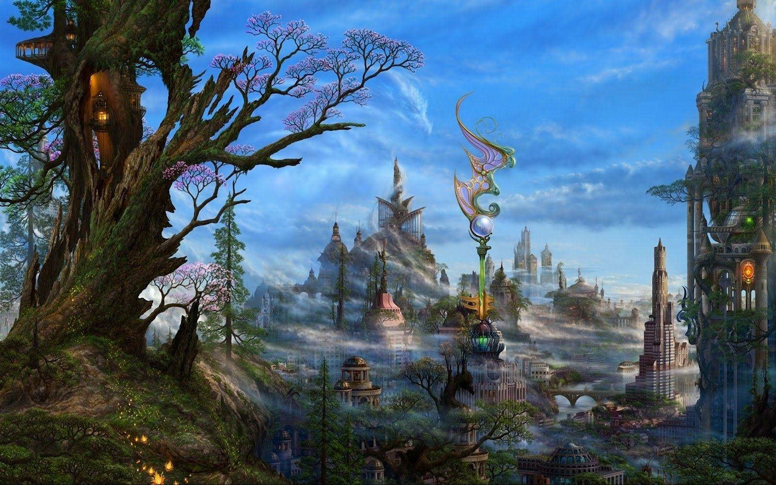 Windows 8 Wallpaper 3d Fantasy Landscape 1600 1000 High