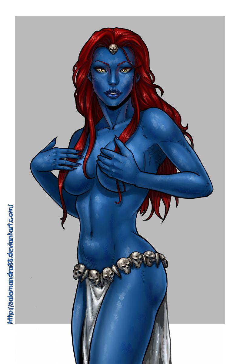 Mystique | Mystique marvel, Comics girls, Comic book girl