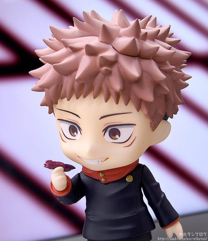 Jujutsu Kaisen S Yuji Itadori Gets Reimagined As A Nendoroid Nendoroid Jujutsu Nendoroid Anime
