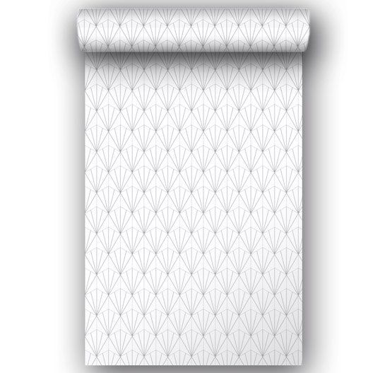 Papier peint intissé Geo d blanc Wallpaperz Pinterest Wall - peindre sur papier vinyl