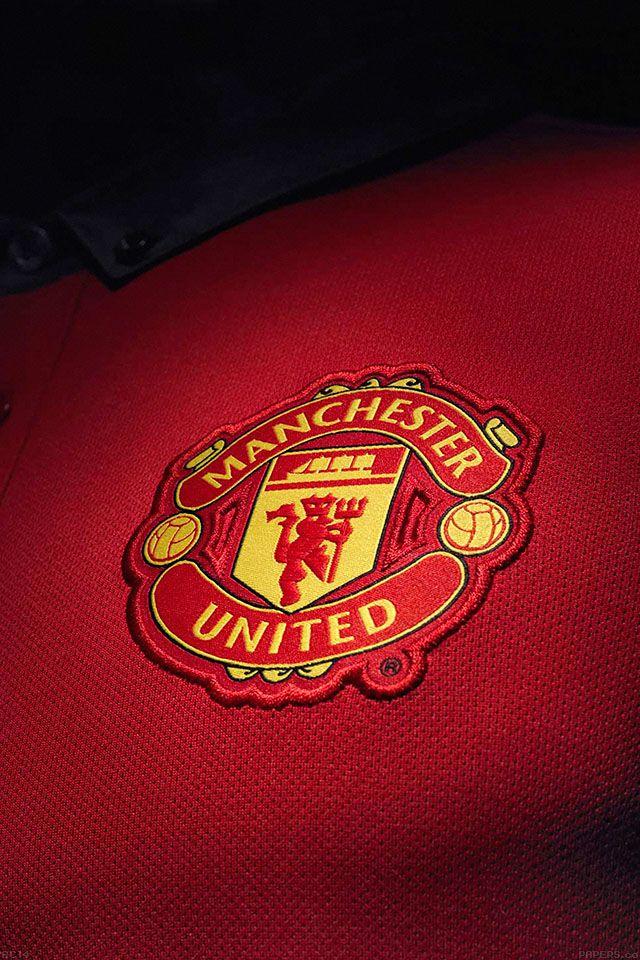 Most Beautiful Manchester United Wallpapers IPad FreeiOS7 | ac14-wallpaper-mancester-united-logo-sports | freeios7.com