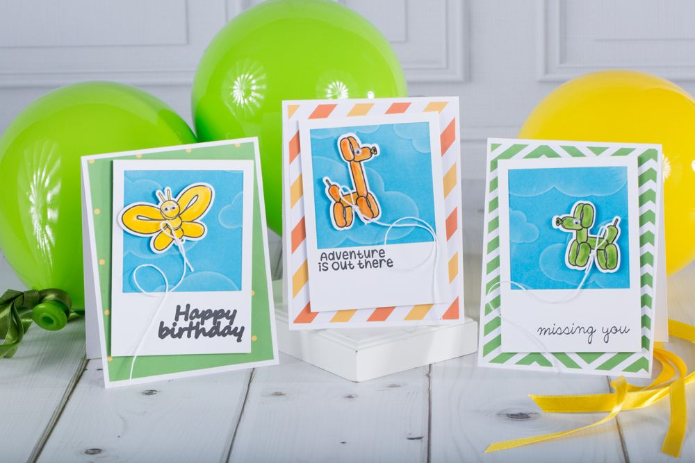 fun stampers journey   card making   paper crafting   Twisted Friends Stamp Set