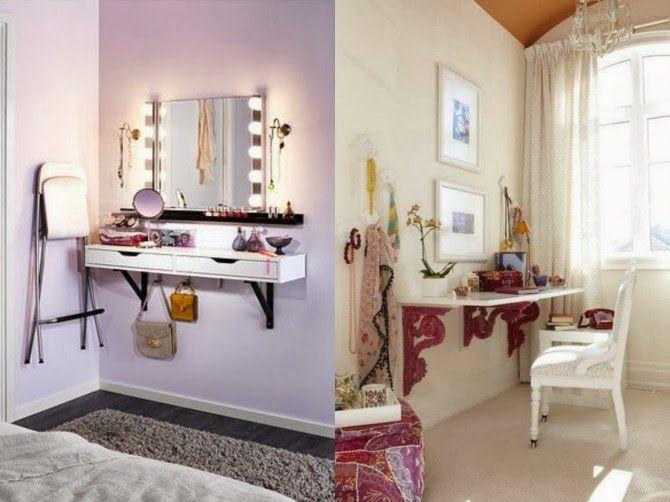 Postazione make up da camera cerca con google make up pictures pinterest vanities and room - Toletta da camera ...