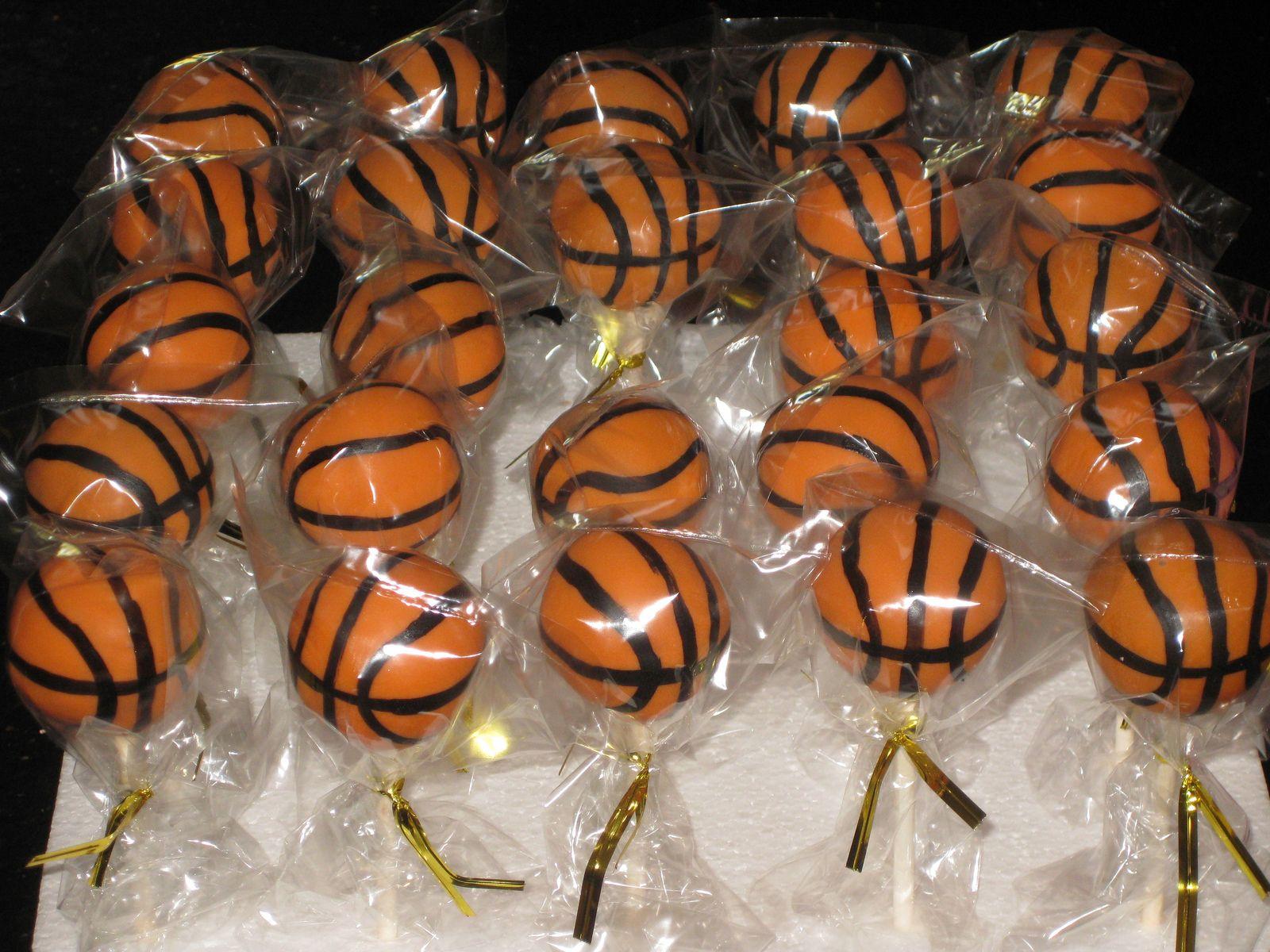 Basketball cake pops basketball cake pops cake pops