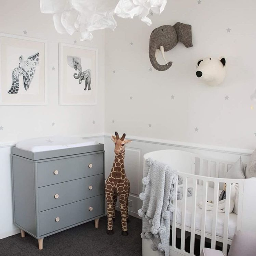 Reach For The Stars Or The Savannah! ⭐ This Weeks Nursery Inspo Featuring Leander  Cot