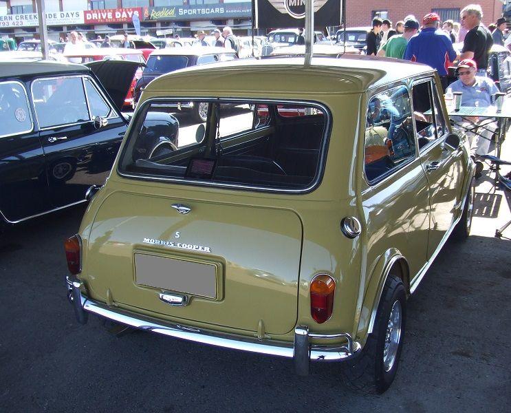 Australian Mk2 Morris Cooper S Rear Tail Lights Mini Cooper S Classic Mini Mini Cooper