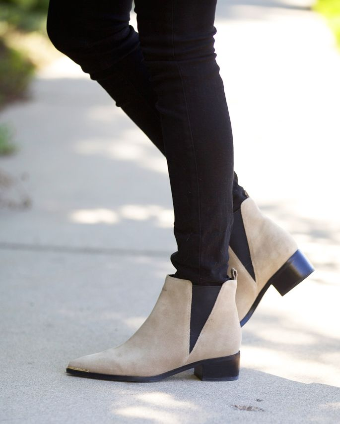 c55d505d055 The must-have Marc Fisher Yale Chelsea Booties every It Girl has. (And  they re on sale!) Click through for the details.