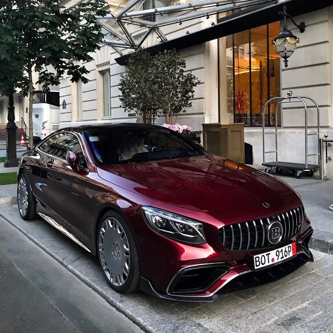 Mercedes-Benz S63 Brabus #exoticcars