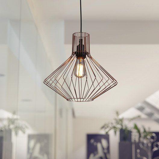 Idée suspension cuivre pour chambre 3990 euros chez leroy merlin