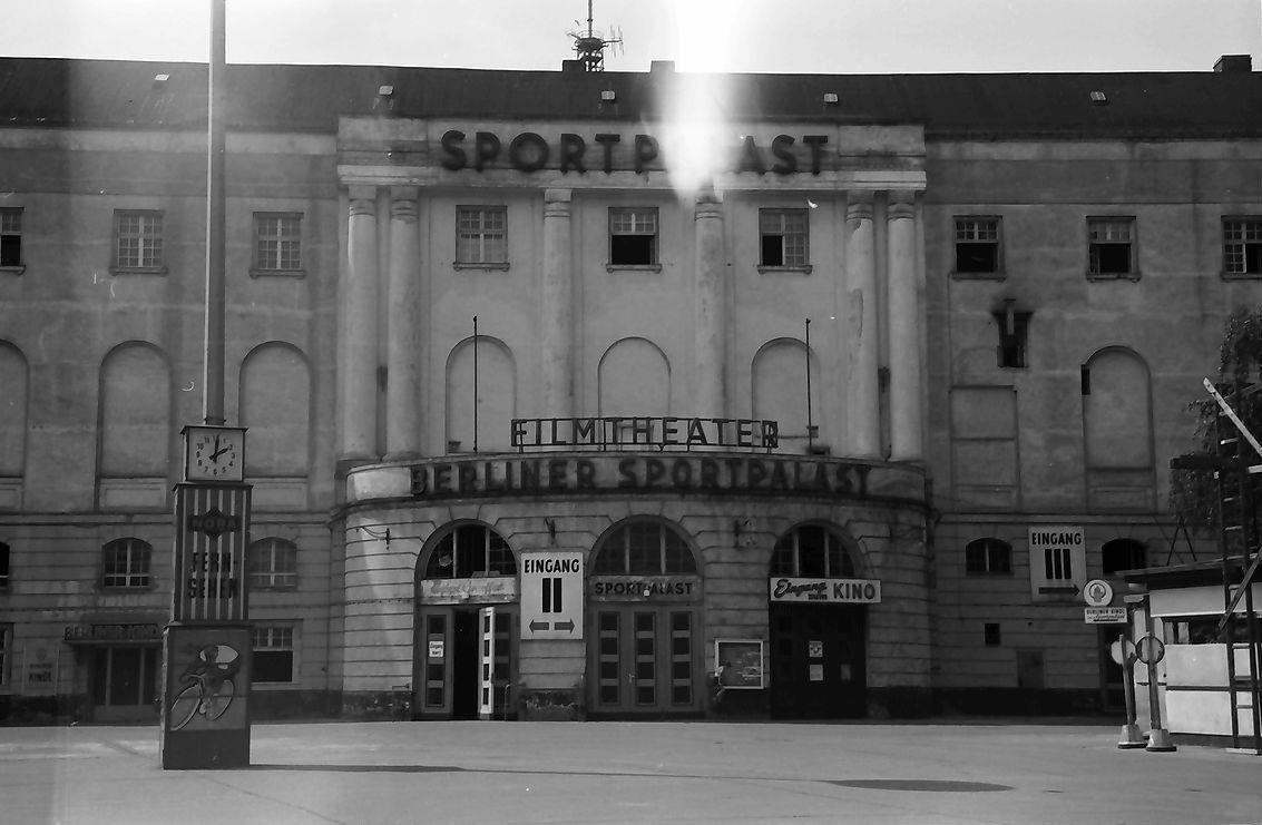 Berlin Sportpalast 1956