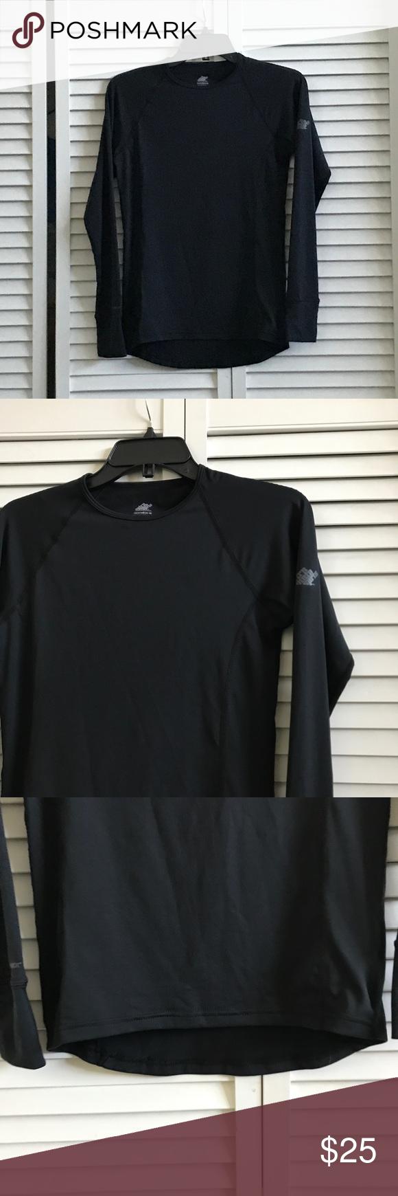 f4f7d9105 EMS women's Techwick shirt, EUC   High low, Smoke free and Smoking