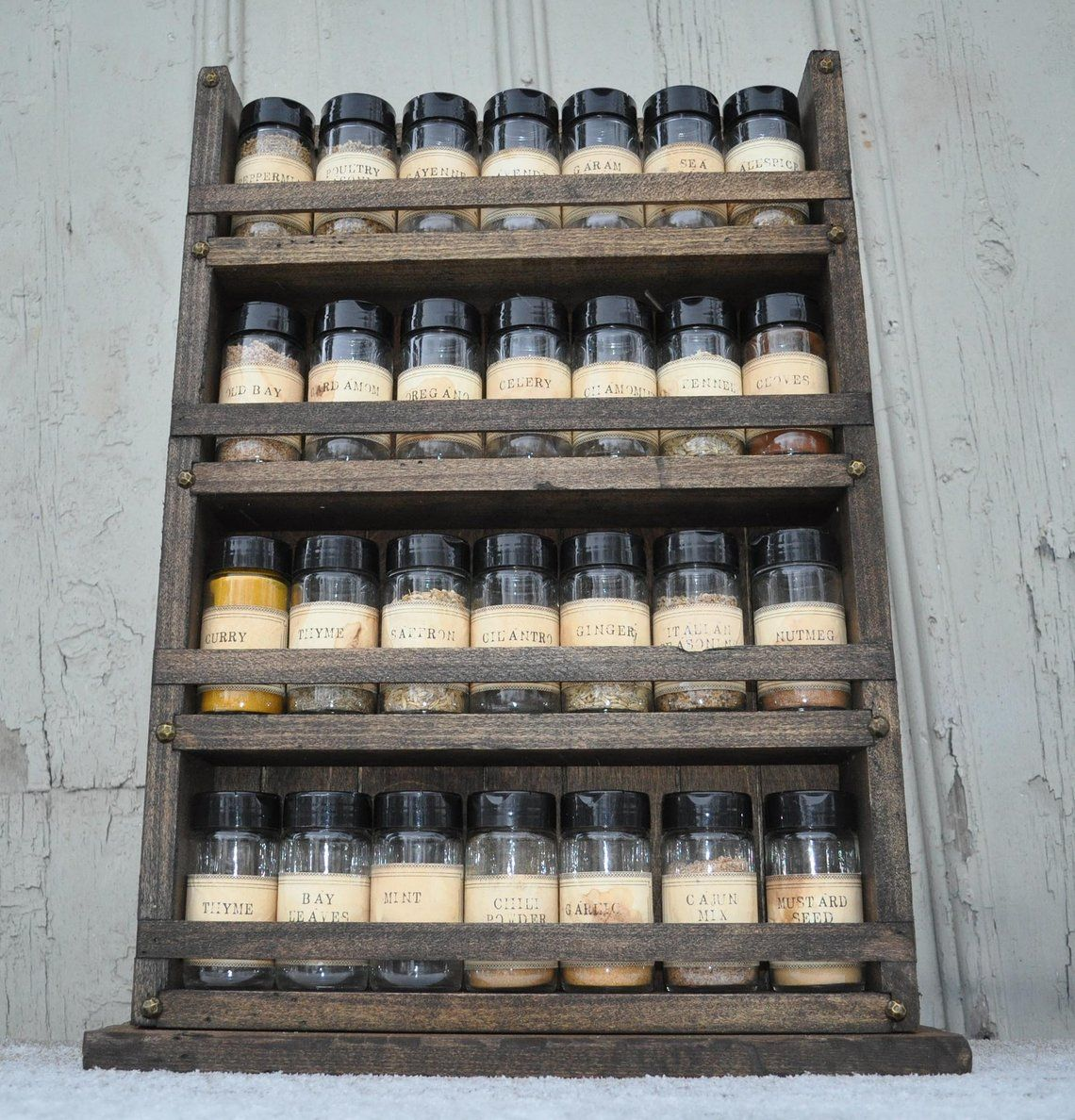 Spice Rack Country Counter Spice Rack Holds 28 Spice