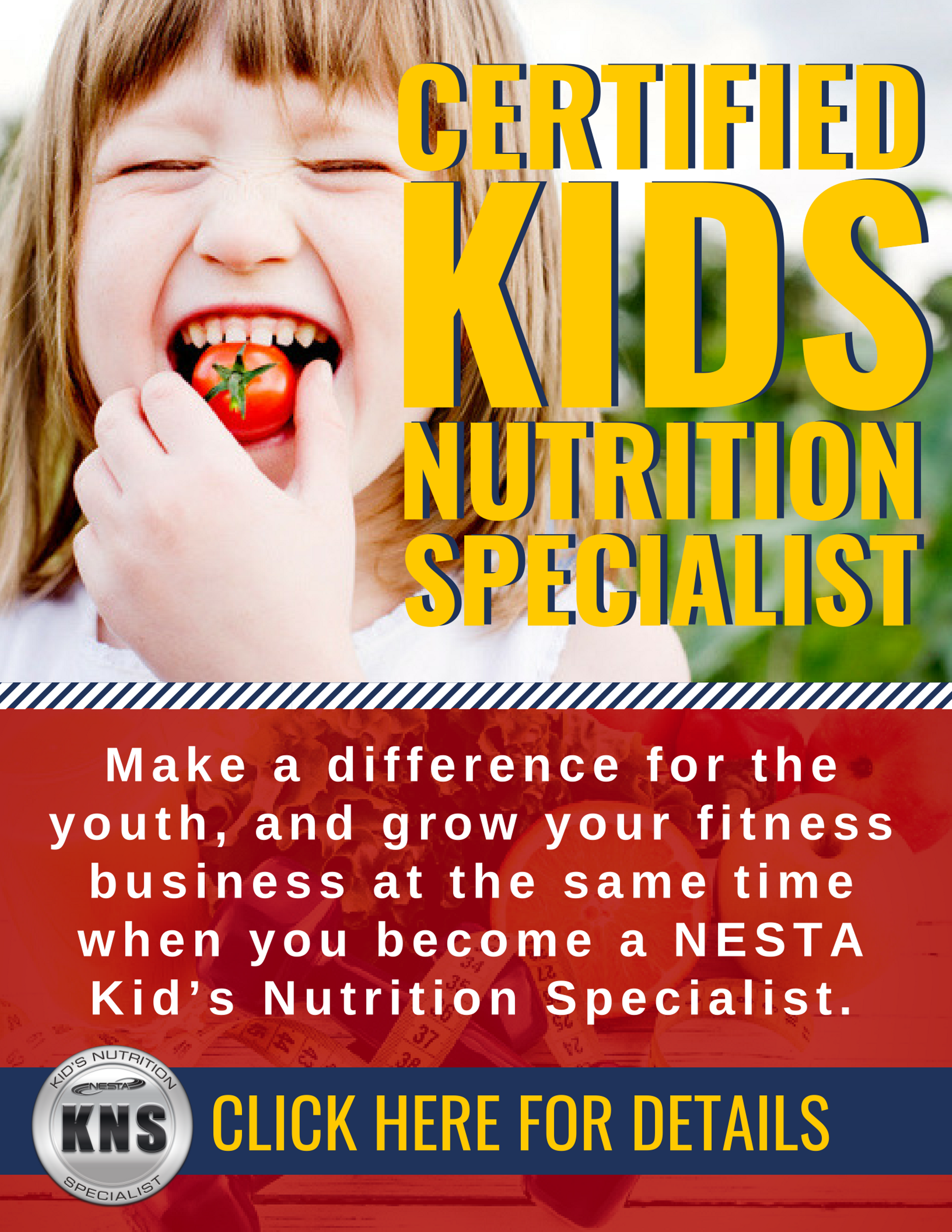 Kids Nutrition Specialist Certification Course Health Nutrition