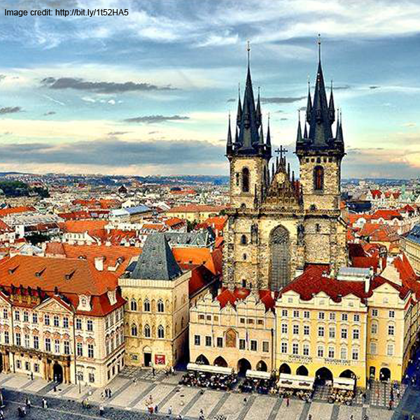 Step right into a fairy tale in Prague, Czech Republic – the largest ancient castle in the world. Who's in for a wondrous magical adventure?  #Travel #Explore #Prague #CzechRepublic #Adventure #Europe #Holiday #Vacation